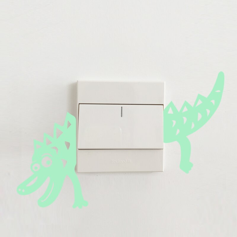 Home loft concept leuchtendes wandtattoo dinosaurier - Wandtattoos dinosaurier ...