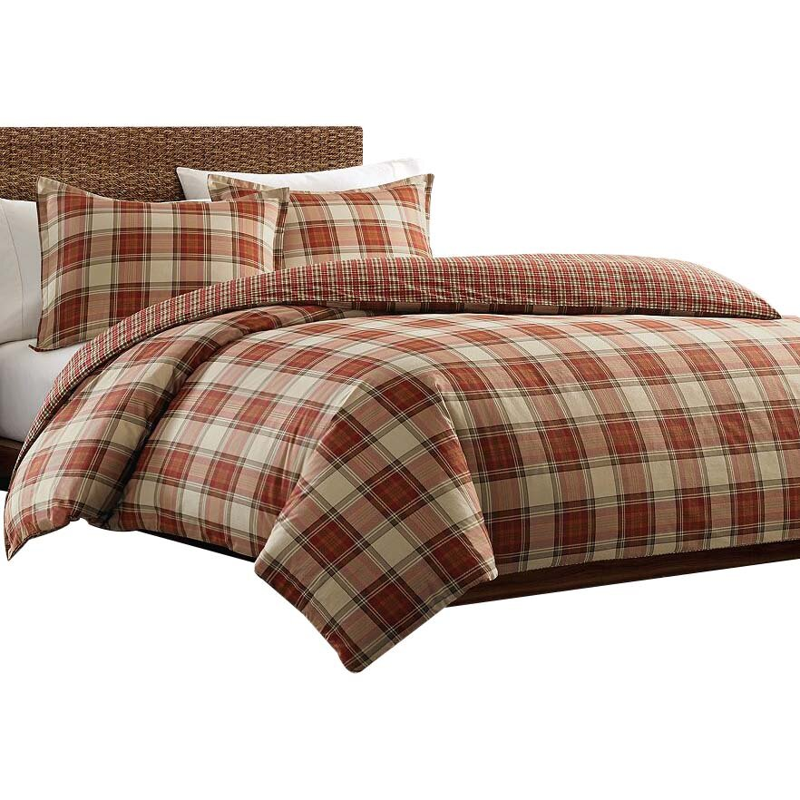 Eddie Bauer Edgewood Plaid Duvet Cover Set Amp Reviews Wayfair