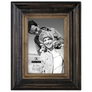 Wannamaker Two Tone Walnut Picture Frame