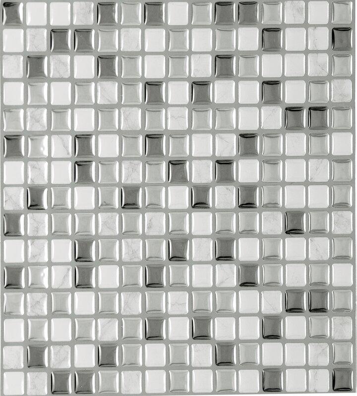 Magic Gel Self Adhesive 9 13 X Vinyl L Stick Mosaic Tile In