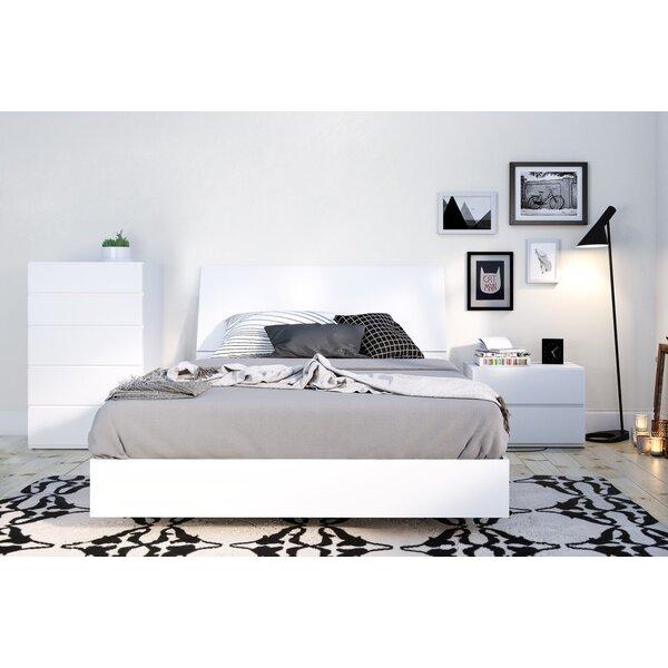 Modern & Contemporary Floating Platform Bed | AllModern