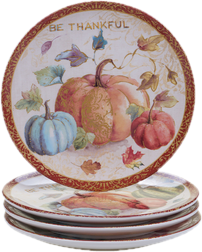 Thanksgiving Plates & Thanksgiving Dinnerware u0026 Table Décor Youu0027ll Love | Wayfair