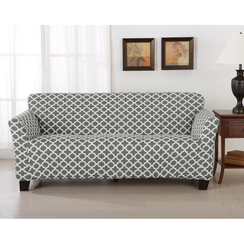 Brenna Box Cushion Sofa Slipcover