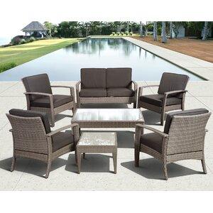Aquia Creek 7 Piece Lounge Seating Group with Cushion