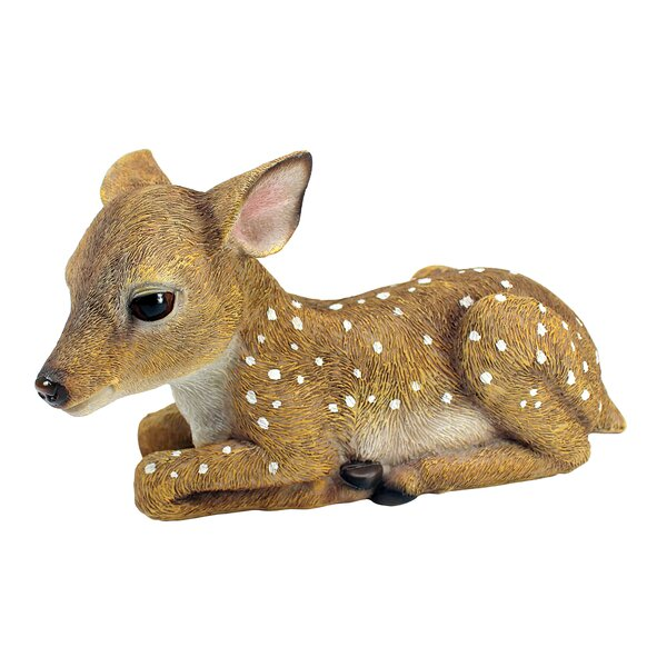 Design Toscano Darby The Forest Fawn Baby Deer Statue