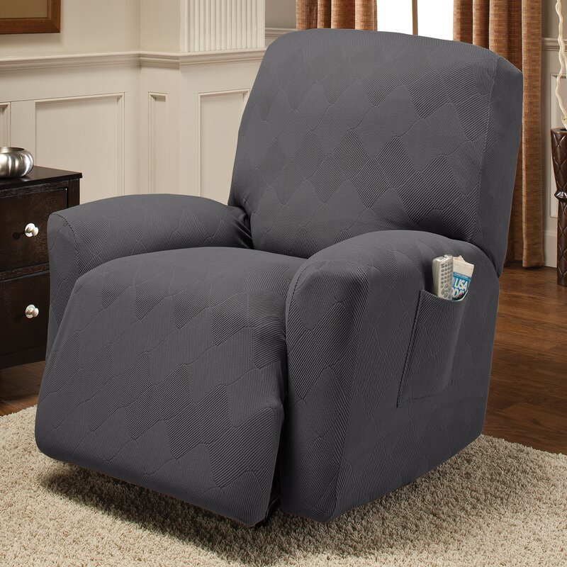 Madden Box Cushion Recliner Slipcover : slipcovers for small recliners - islam-shia.org