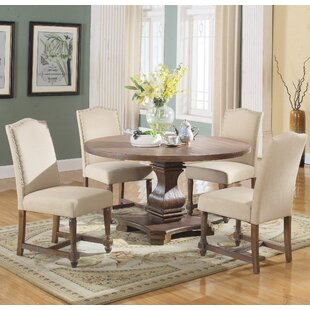 Arielle 5 Piece Round Dining Set : round kitchen table and chairs - hauntedcathouse.org