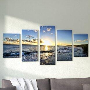 26a1e0444b  Day Break  Photographic Print Multi-Piece Image on Canvas