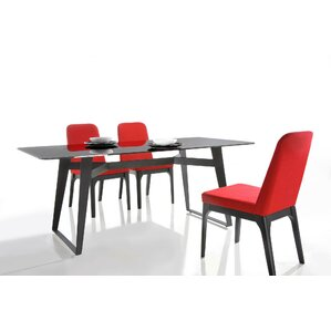 Camron Glass Top Dining Table by Orren El..