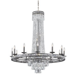 Markenfield 16-Light Crystal Chandelier