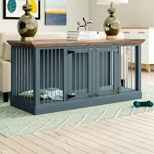 Corner Dog Crate Wayfair