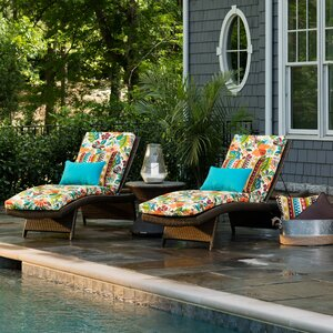 Guadaloue Outdoor Chaise Lounge Cushion