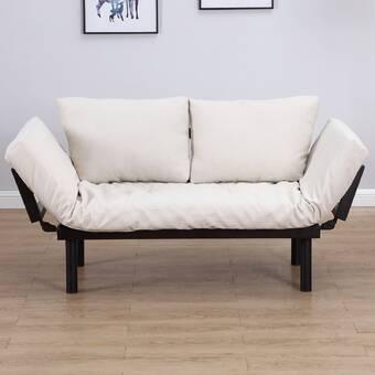 Latitude Run Omak 3 Position Chaise Lounger Convertible Sofa ...