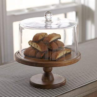 Olson Cake Stand with Flat Cover & Flat Cake Plate | Wayfair