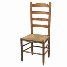 A Ladderback Chair Features Horizontal Wooden Slats Evenly Spaced Along The Back Of Though Is Traditional Design Depending Upon