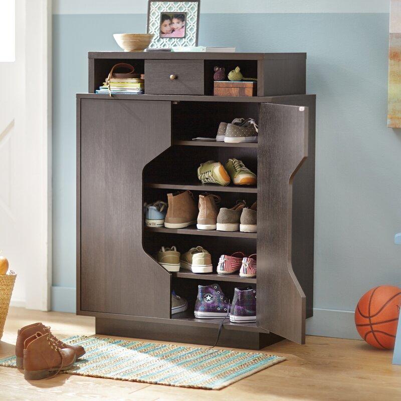 Redland Redline 20 Pair Shoe Storage Cabinet