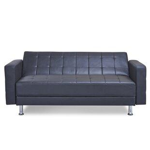 Modern & Contemporary Click Black Sofa Bed | AllModern