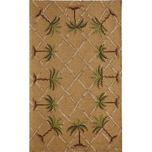 Tan/Brown Indoor/Outdoor Area Rug