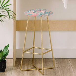 Wagner Campelo Marble Waves Desert 31 Bar Stool