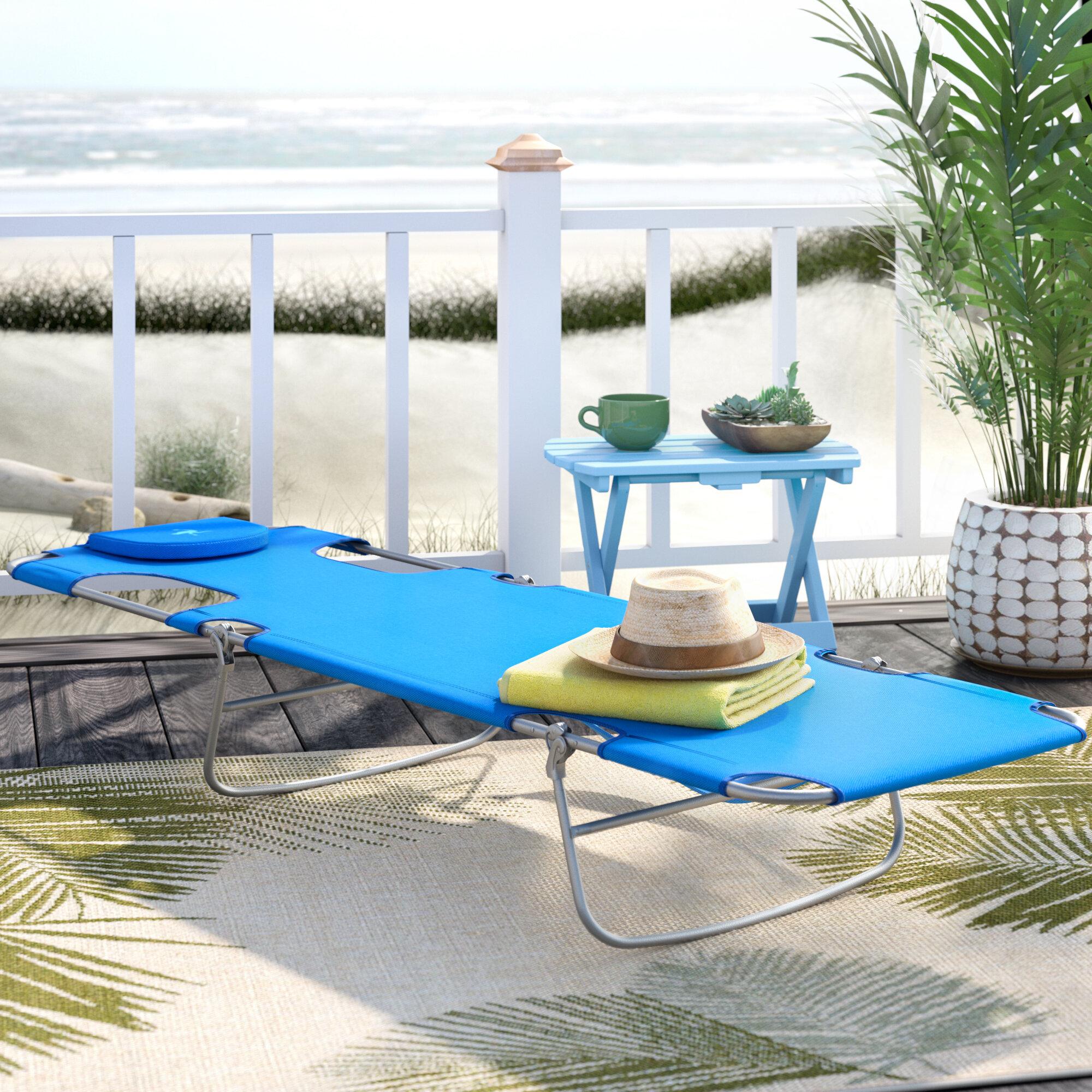 sling chair plan chaise folding mosaic academy regarding lounge