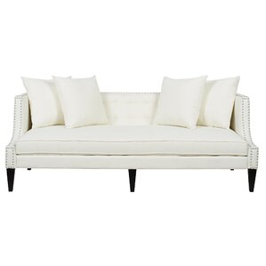 Caroline Recessed Tuxedo Sofa by Jennifer Taylor