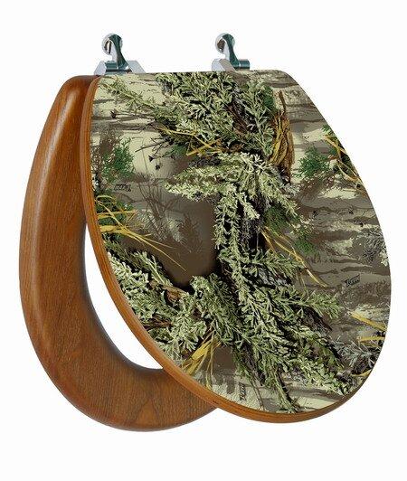 RealTree Camouflage Round Toilet Seat