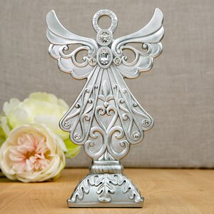 Stunning Angel Design Center Piece and Cake Topper