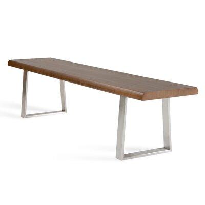 Brayden Studio Chapdelaine Wood Bench