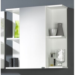 68 x 68cm Surface Mount Mirror Cabinet. By Belfry Bathroom