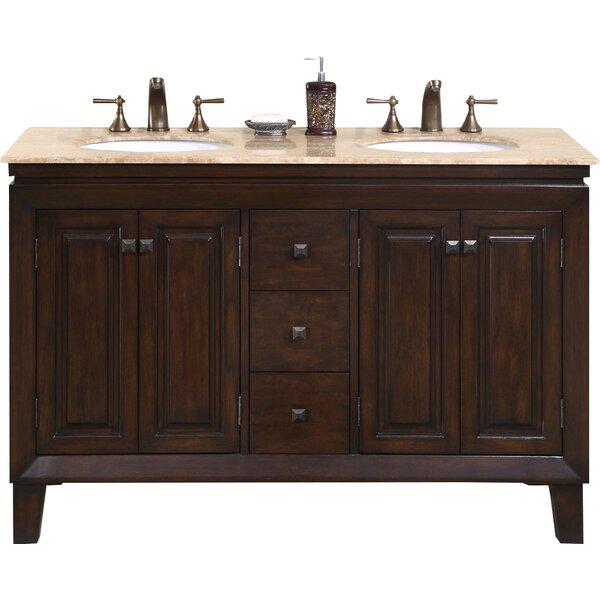Jessica 55 Double Bathroom Vanity Set