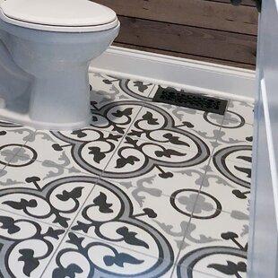 Mora 12 38 X Ceramic Field Tile In Gray White