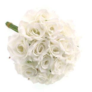Artificial white roses wayfair save mightylinksfo