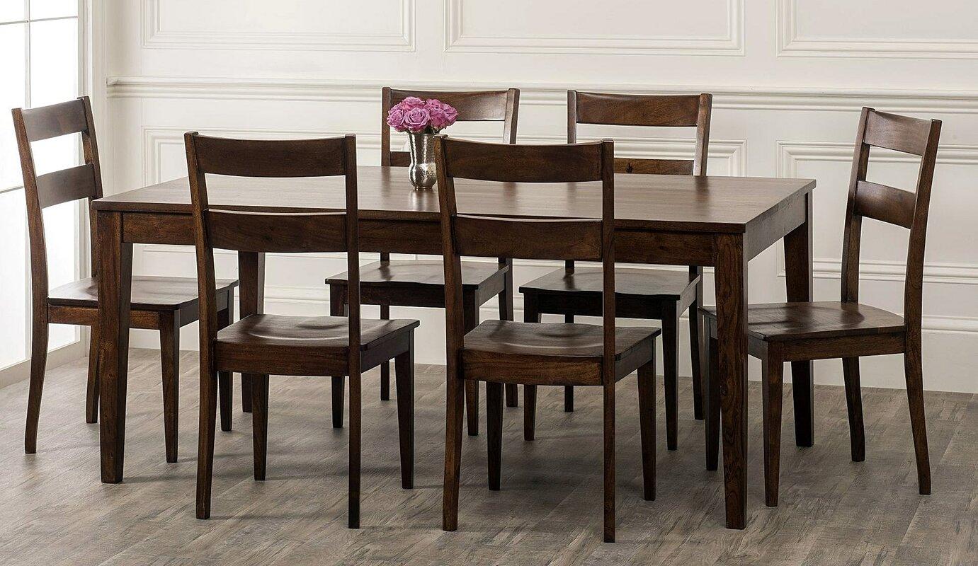 Rustic 7 Piece Dining Set Room Ideas
