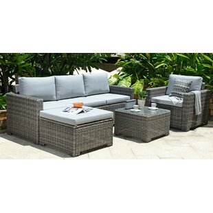 Grey Rattan Garden Furniture Wayfair Co Uk