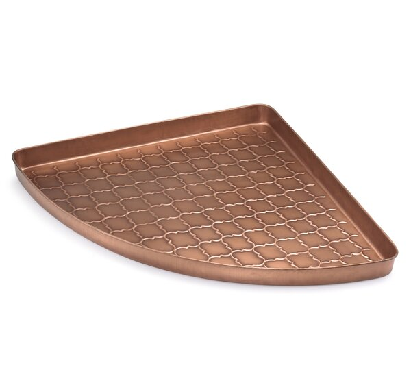 Marty corner boot tray reviews joss main for Wallpaper tray home depot