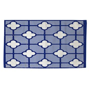 Atherstone 3 Blue/White Area Rug