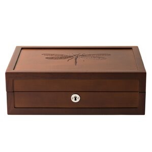 Dragonfly Motif Large Jewelry Box  sc 1 st  Wayfair.com & Wooden Jewelry Boxes Youu0027ll Love Aboutintivar.Com