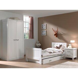 Lewis 4 Piece Bedroom Set by Vipack