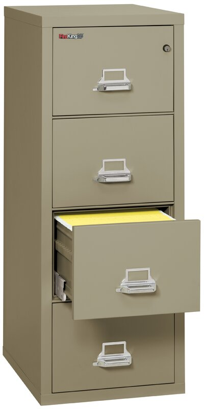 Lovely Fireproof 4 Drawer Vertical File Cabinet