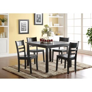 Prado 5 Piece Solid Wood Dining Set