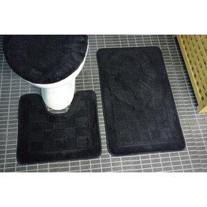 Sheppton 3 Piece Bath Rug Set