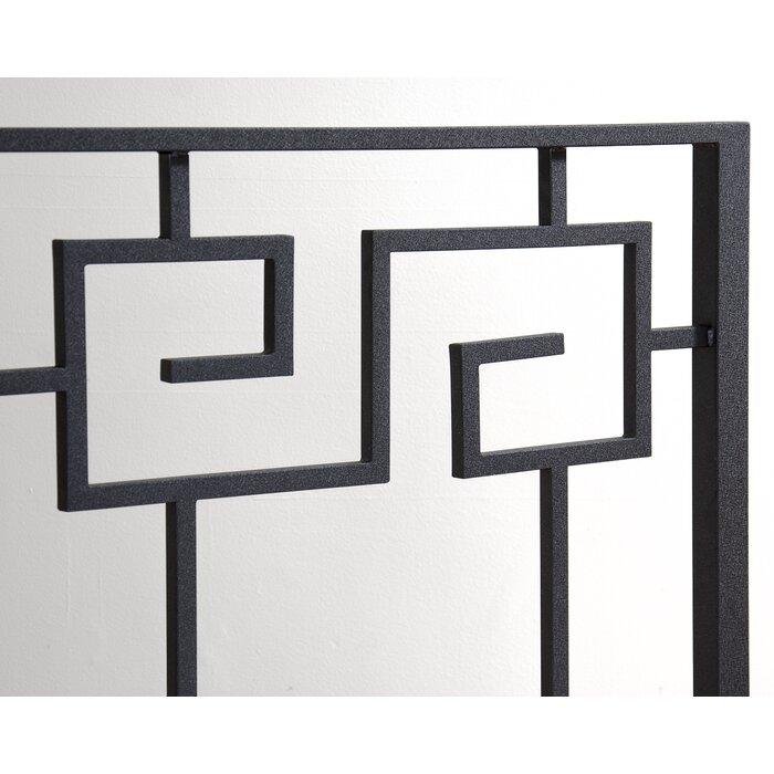 In Style Furnishings Greek Key Open Frame Headboard Reviews
