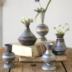 Taper 5 Piece Table Vase Set