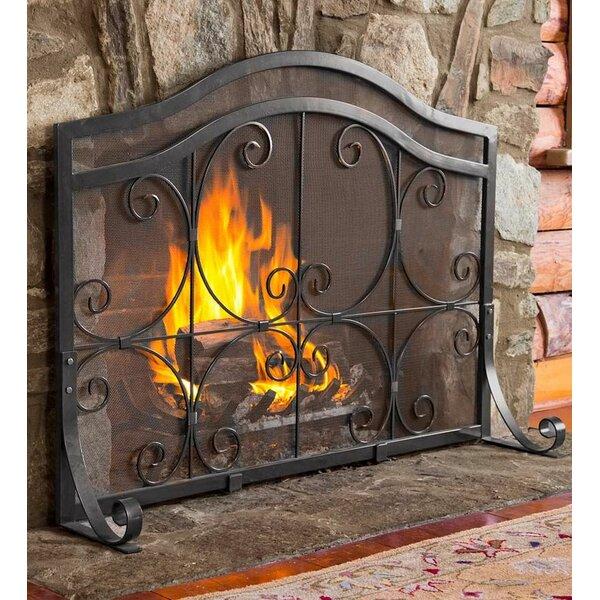 iron fireplace screen. Iron Fireplace Screen C