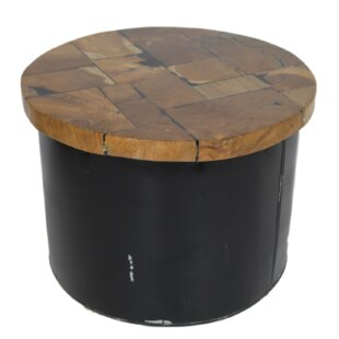 Young Industrial Drum Coffee Table ...