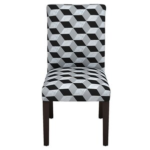 Celeste Marble Cube Parsons Chair by Lati..