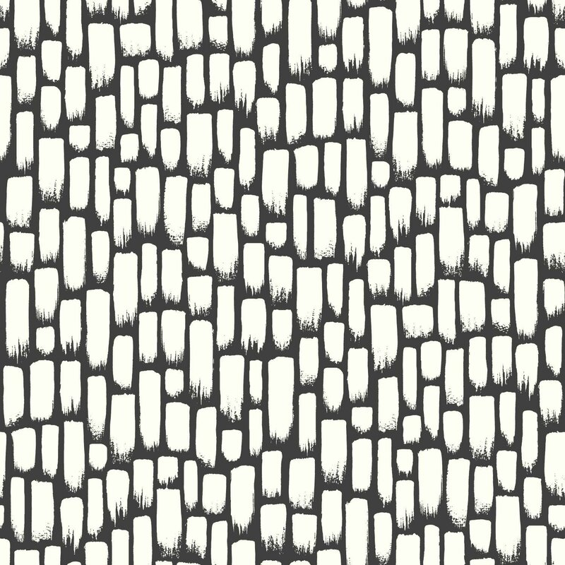 "York Wallcoverings Risky Business 2 Sumi-E Removable 33' x 20.5"" Wallpaper Roll & Reviews 