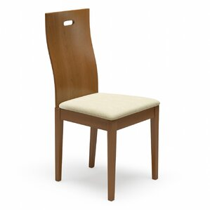 Cheri Genuine Leather Upholstered Dining Chair Set Of 2