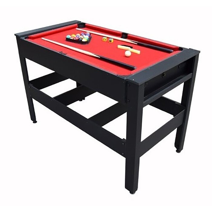 Voit Voit Flip Table In Combo Pool Table Tennis Football - Table tennis and billiards table