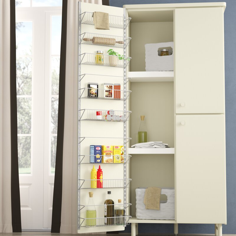 Davidson Kitchen Over Cabinet Door Organizer